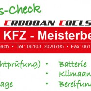 KFZ Werkstatt in Egelsbach